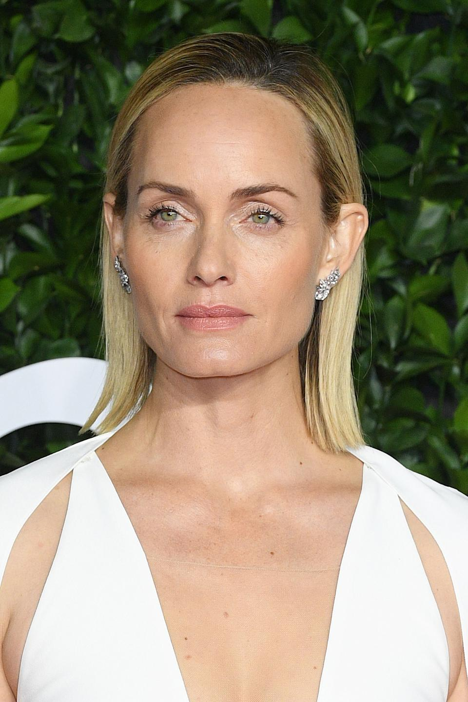 Model Amber Valletta, at the Fashion Awards in December, believes that if she didn't get sober 25 years ago, she wouldn't be alive. (Photo: Daniele Venturelli/Daniele Venturelli/WireImage )