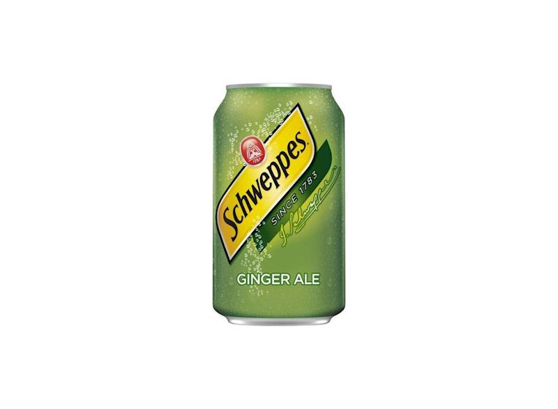 can of schweppes ginger ale