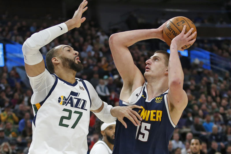 With only six teammates to help him, Nikola Jokic and the Nuggets topped the Jazz on Wednesday night.