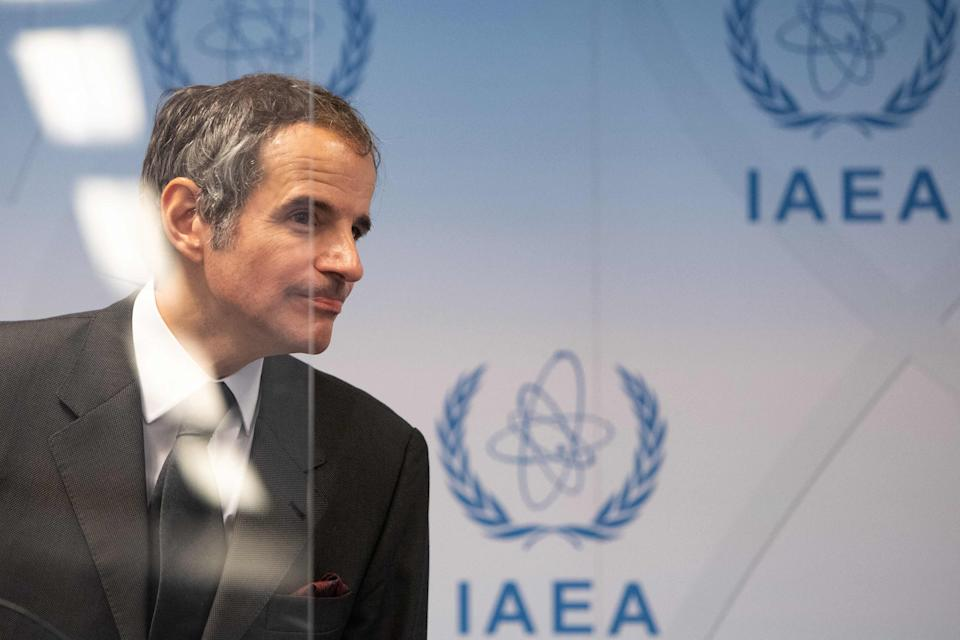 A deal in the offing? Rafael Grossi, Director General of the International Atomic Energy Agency (AFP via Getty Images)