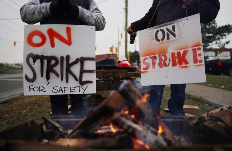 Talks continue to end strike at Canada's biggest railway as factories slow output