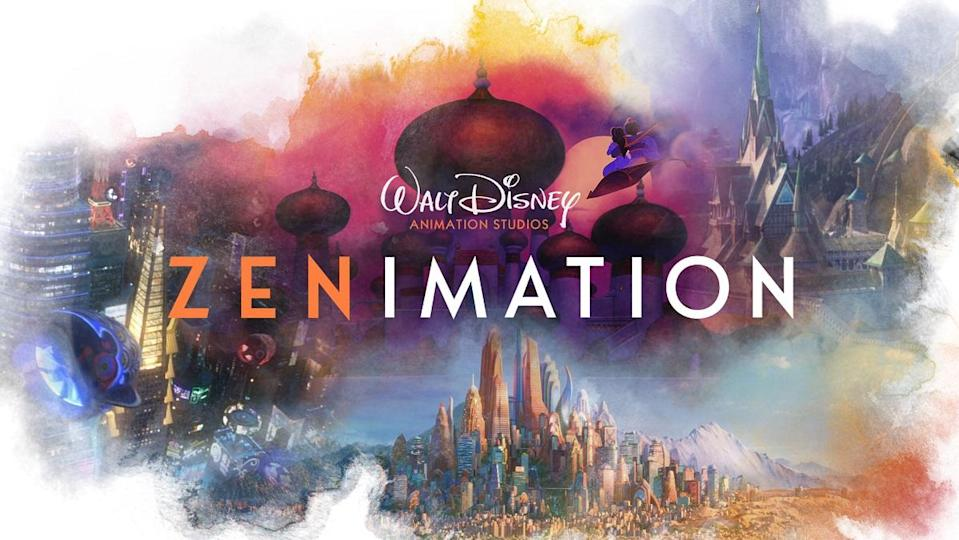 The illustrated logo for Zenimation