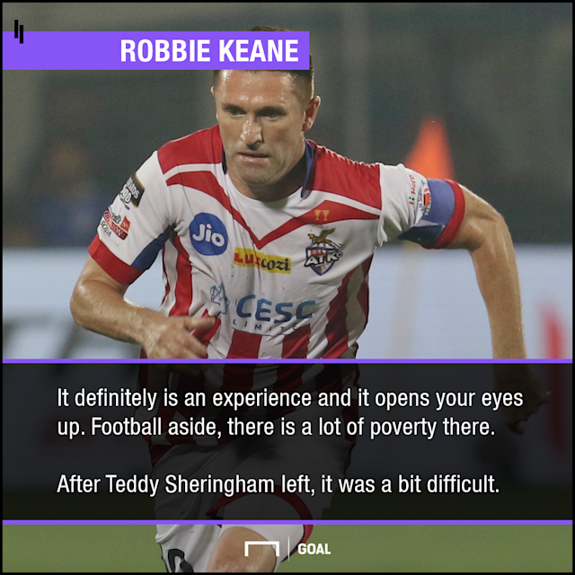 Dimitar Berbatov and Robbie Keane share their thoughts on Indian Super League...