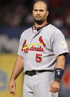 Pujols in a Cardinals uniform just looks right