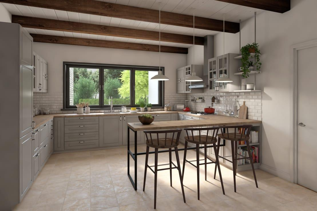 <p>The open-plan layout has indeed become one of the trendiest designs, seamlessly connecting various rooms like kitchens, dining rooms, living rooms, etc. According to the survey, 55% seek communal rooms downstairs, while bedrooms must be located upstairs.</p>  Credits: homify / press profile homify