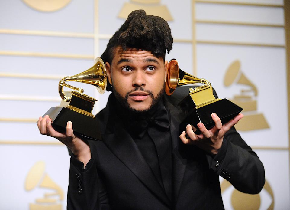 The Weeknd had criticised the Grammy Awards voting process. (Photo by Jason LaVeris/FilmMagic)