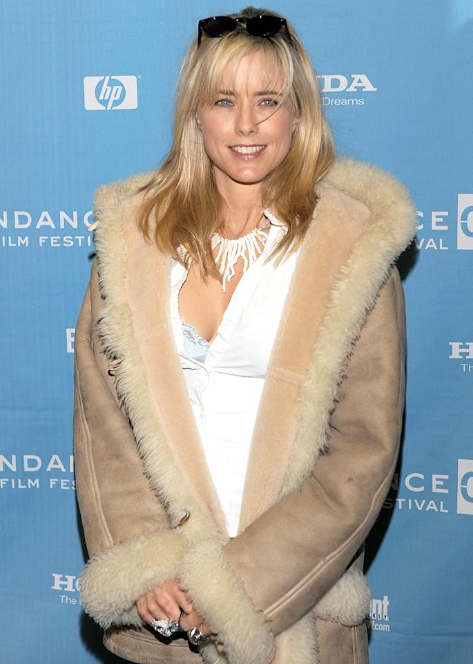 "Tea Leoni attends the ""Manure"" premiere at the Eccles Theatre during the 2009 Sundance Film Festival on January 20, 2009 in Park City, Utah."