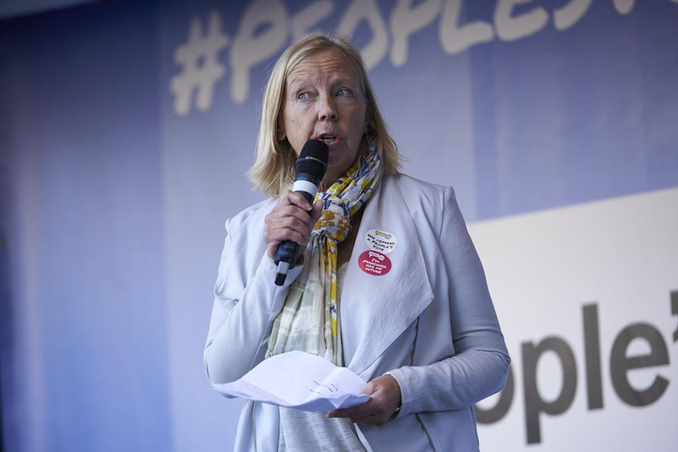 Deborah Meaden had criticised those who would think of visiting their holiday homes during the coronavirus pandemic. (Photo by NIKLAS HALLE'N / AFP via Getty Images)