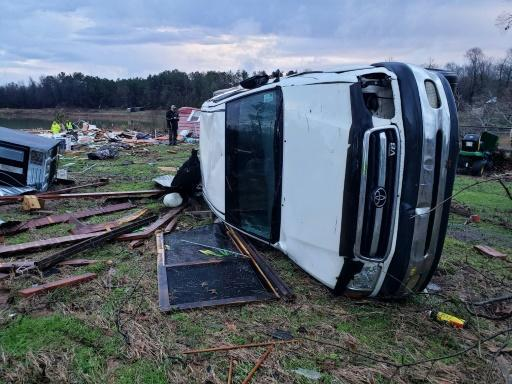The National Weather Service has issued flood and tornado warnings for several states