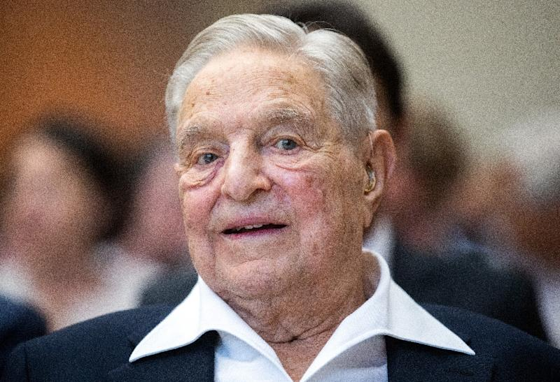 Hungarian-born US investor and philanthropist George Soros was among a group of billionaires urging higher taxes on the superwealthy