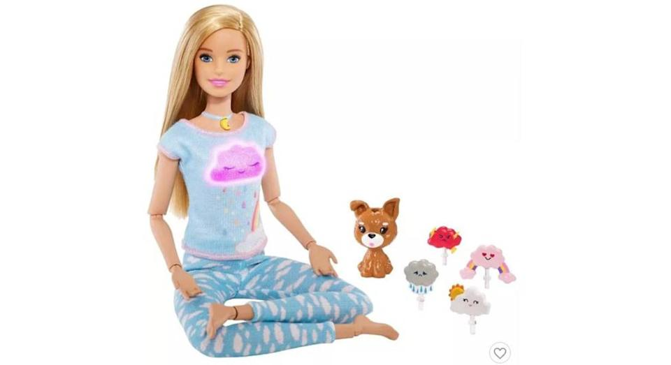 Barbie has a thing or two to tell you about wellness. [Photo: Mattel]