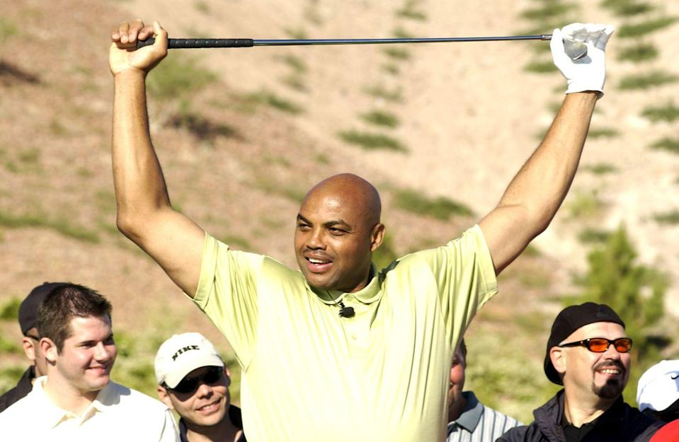<p>Charles Barkley during Tiger Jam V in 2002. </p>