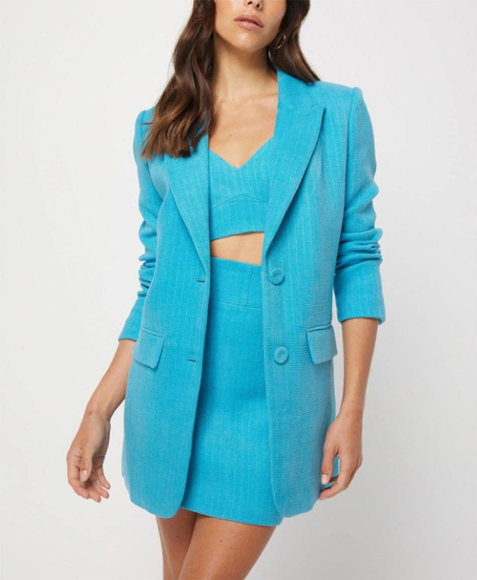 Mossman Complete Control Blazer $279.95 from The Iconic