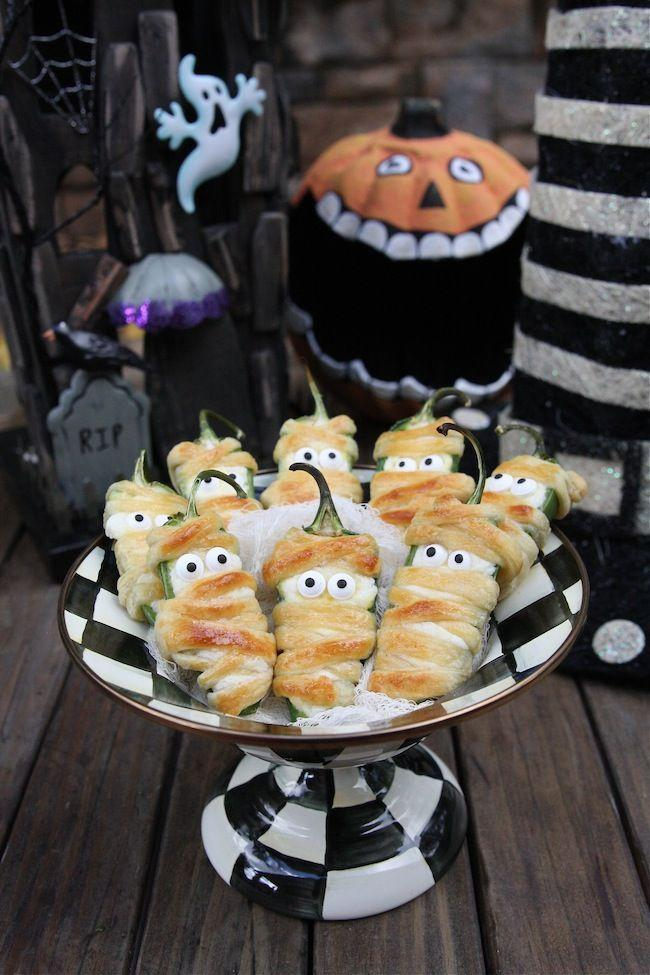 """<p>#SquadGoals.</p><p>Get the recipe from <a href=""""http://www.thehopelesshousewife.com/?hhw_recipes=halloweeno-jalapeno-popper-mummies#.V37AtDkrLF6"""" rel=""""nofollow noopener"""" target=""""_blank"""" data-ylk=""""slk:The Hopeless Housewife"""" class=""""link rapid-noclick-resp"""">The Hopeless Housewife</a>.</p>"""