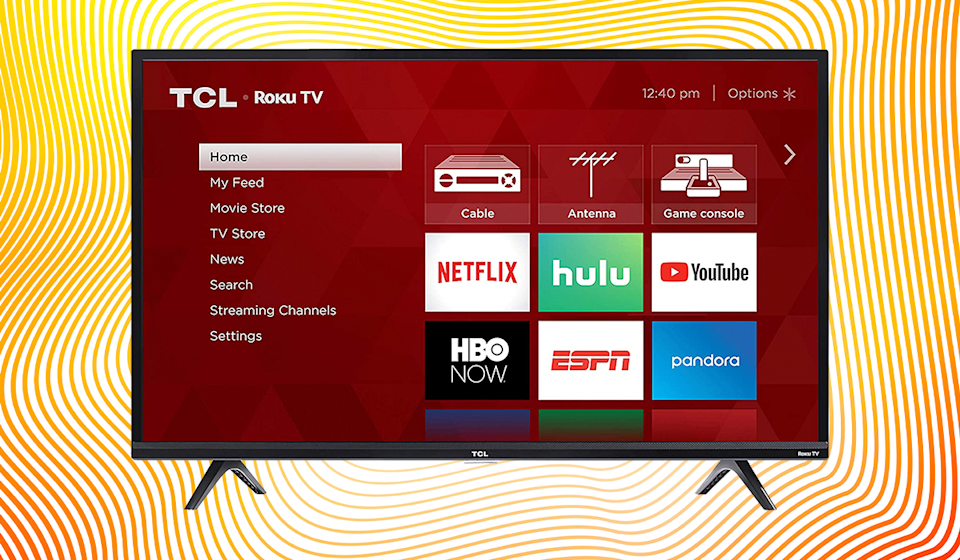 Get this TCL 40-inch HD Smart LED Roku TV for just $180, down from $300. (Photo: Amazon)