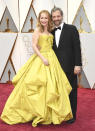 <p>Leslie Mann and Judd Apatow arrive at the Oscars on Sunday, Feb. 26, 2017, at the Dolby Theatre in Los Angeles. (Photo by Jordan Strauss/Invision/AP) </p>