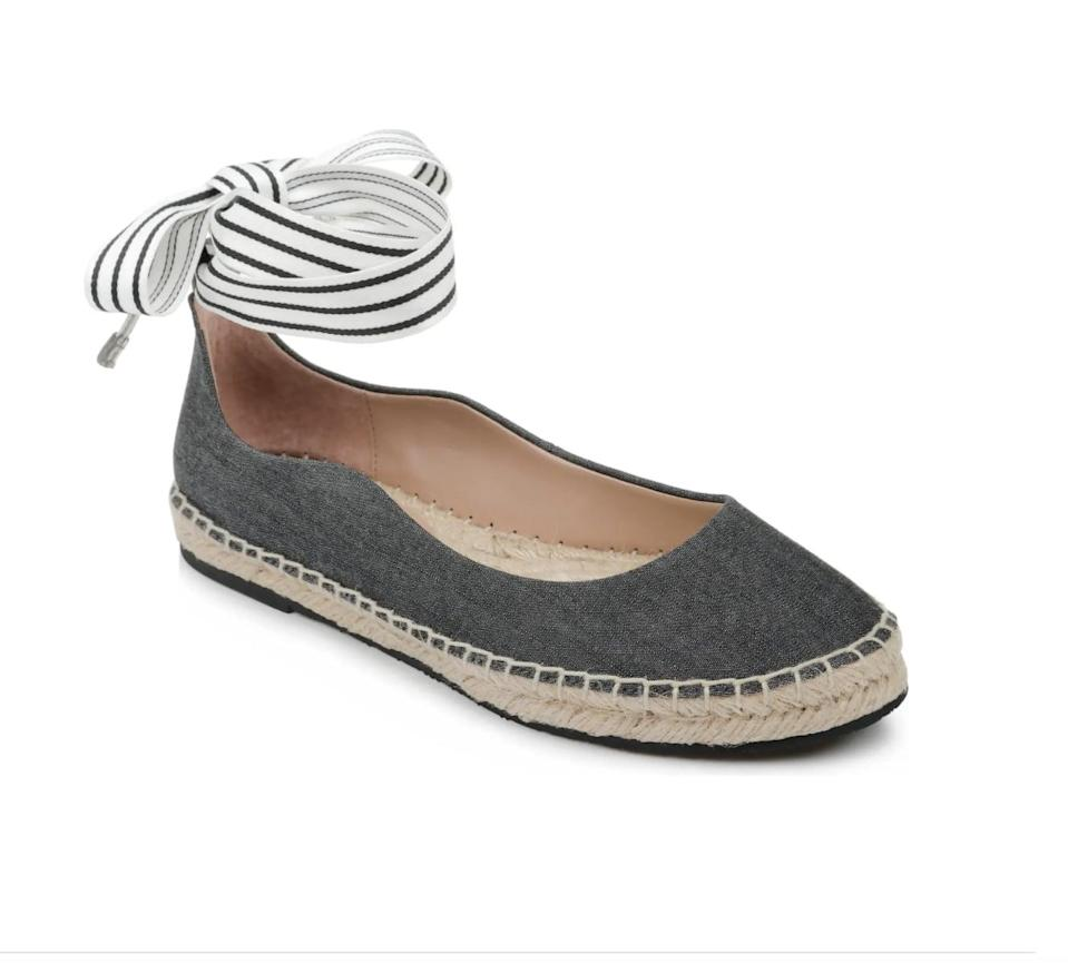 <p>This <span>Zac Zac Posen Vinca Ankle Strap Espadrille</span> ($50, originally $99) is so stylish, and it pairs well with a midi skirt.</p>