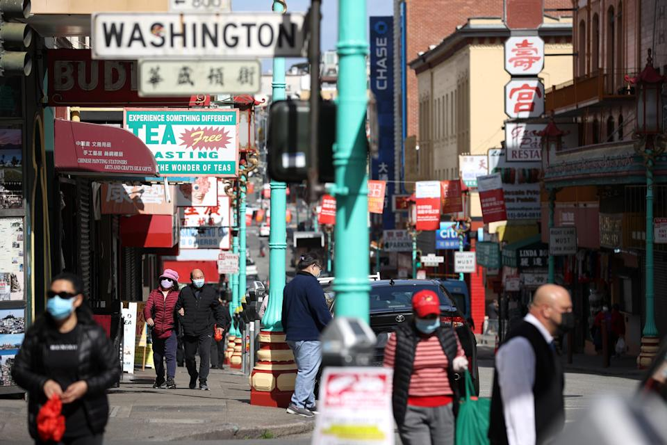 <p>Police departments and community activist groups are trying to figure out how to curb a surge in burglaries, vandalism, hate crimes and attacks against Asian Americans in the San Francisco Bay Area. </p> (Getty Images)
