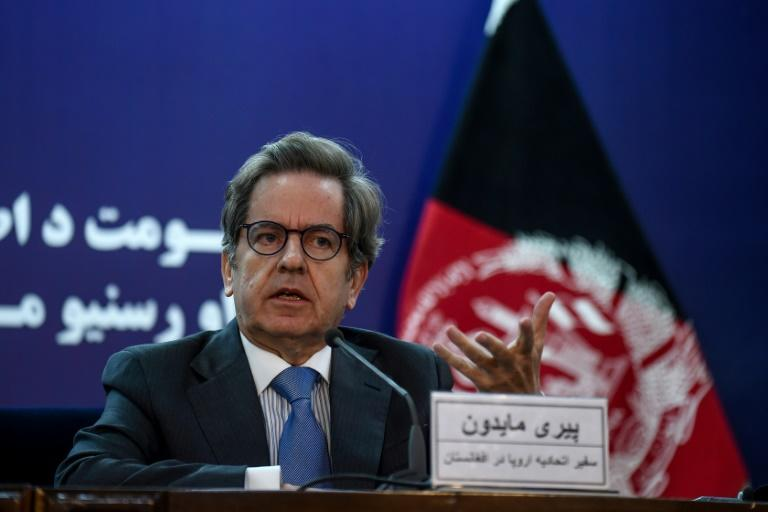 Head of the EU delegation in Afghanistan Pierre Mayaudon warned against an extended delay to publishing election results