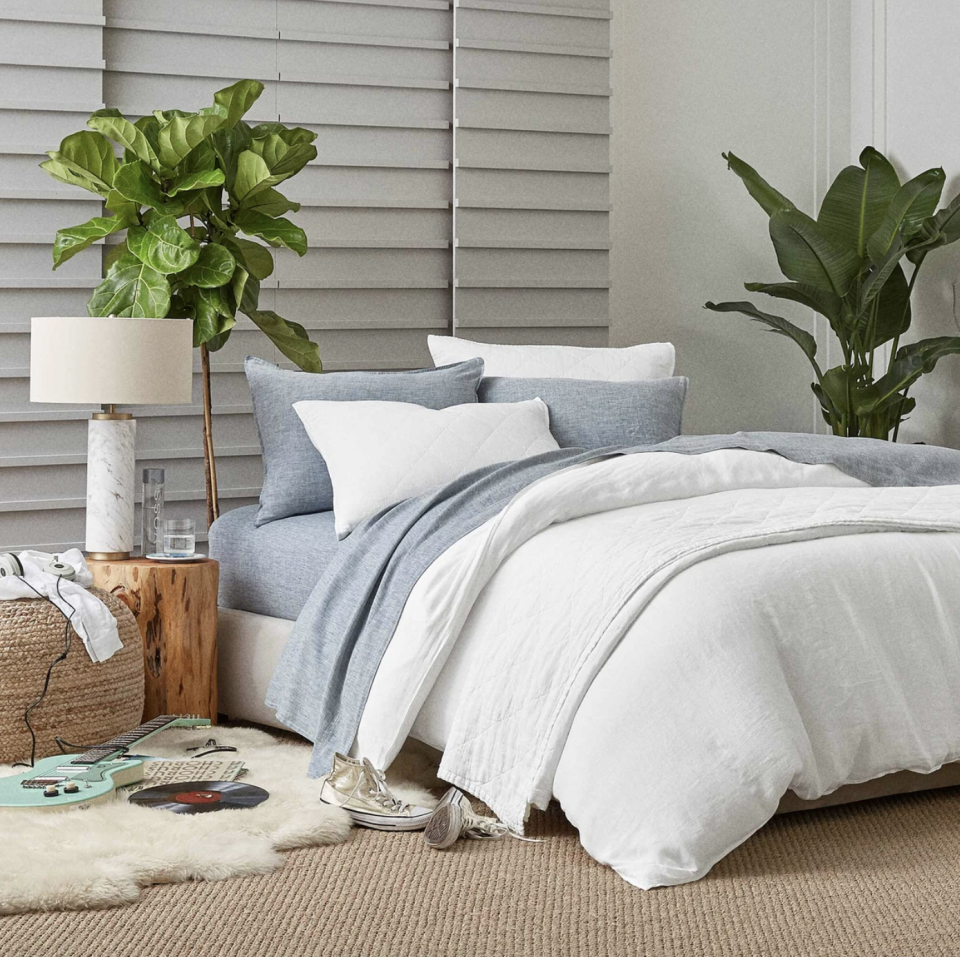 "<p>The average person spends about a third of their life in bed, but the average person in quarantine? That's a different story. If you want to turn your bed into a stylish, soothing sanctuary, look no further. Right now, <a href=""https://go.redirectingat.com?id=74968X1596630&url=https%3A%2F%2Fwww.brooklinen.com%2F&sref=https%3A%2F%2Fwww.marieclaire.com%2Fhome%2Fg32629149%2Fbrooklinen-memorial-day-sale-2020%2F"" rel=""nofollow noopener"" target=""_blank"" data-ylk=""slk:Brooklinen is taking 15 percent off its beloved sheets"" class=""link rapid-noclick-resp"">Brooklinen is taking <strong>15 percent off</strong> its beloved sheets</a> with the code <strong>""WKND15.""</strong> Whether you prefer percale, sateen, or linen sheets, the direct-to-consumer brand has made it possible to <a href=""https://go.redirectingat.com?id=74968X1596630&url=https%3A%2F%2Fwww.brooklinen.com%2Fcollections%2Fsheet-bundles&sref=https%3A%2F%2Fwww.marieclaire.com%2Fhome%2Fg32629149%2Fbrooklinen-memorial-day-sale-2020%2F"" rel=""nofollow noopener"" target=""_blank"" data-ylk=""slk:buy great sets"" class=""link rapid-noclick-resp"">buy great sets</a> that don't cost a fortune. And why stop there? Brooklinen has plenty of great deals on <a href=""https://go.redirectingat.com?id=74968X1596630&url=https%3A%2F%2Fwww.brooklinen.com%2Fcollections%2Fwomens-loungewear-pieces&sref=https%3A%2F%2Fwww.marieclaire.com%2Fhome%2Fg32629149%2Fbrooklinen-memorial-day-sale-2020%2F"" rel=""nofollow noopener"" target=""_blank"" data-ylk=""slk:loungewear,"" class=""link rapid-noclick-resp"">loungewear,</a> <a href=""https://go.redirectingat.com?id=74968X1596630&url=https%3A%2F%2Fwww.brooklinen.com%2Fcollections%2Fpillows&sref=https%3A%2F%2Fwww.marieclaire.com%2Fhome%2Fg32629149%2Fbrooklinen-memorial-day-sale-2020%2F"" rel=""nofollow noopener"" target=""_blank"" data-ylk=""slk:pillows"" class=""link rapid-noclick-resp"">pillows</a>, and <a href=""https://go.redirectingat.com?id=74968X1596630&url=https%3A%2F%2Fwww.brooklinen.com%2Fpages%2Fcollections-towels&sref=https%3A%2F%2Fwww.marieclaire.com%2Fhome%2Fg32629149%2Fbrooklinen-memorial-day-sale-2020%2F"" rel=""nofollow noopener"" target=""_blank"" data-ylk=""slk:bath accessories"" class=""link rapid-noclick-resp"">bath accessories</a> as well. Peruse through our top picks from Brooklinen's sale, below. </p>"