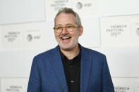 """Director Morgan Neville attends the premiere of """"Roadrunner: A Film About Anthony Bourdain"""" during the 20th Tribeca Festival at Brookfield Place on Friday, June 11, 2021, in New York. (Photo by Evan Agostini/Invision/AP)"""