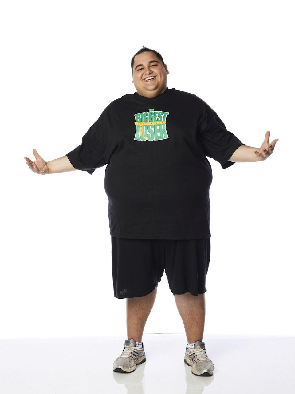 <p>Jeremy was just 22 when he joined the show. He weighed 389 pounds at the start and had a BMI of 59.1.</p>