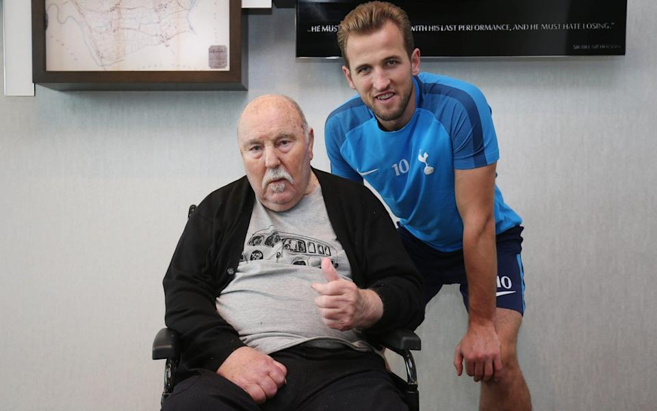 Greaves with Harry Kane, who paid tribute to a 'true legend' - Getty Images