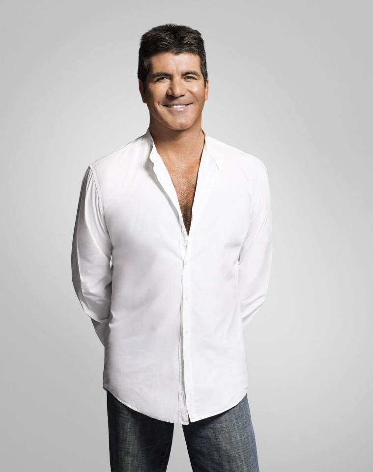 "Simon Cowell returns to the judge's panel on Season 3 of ""The X Factor."""