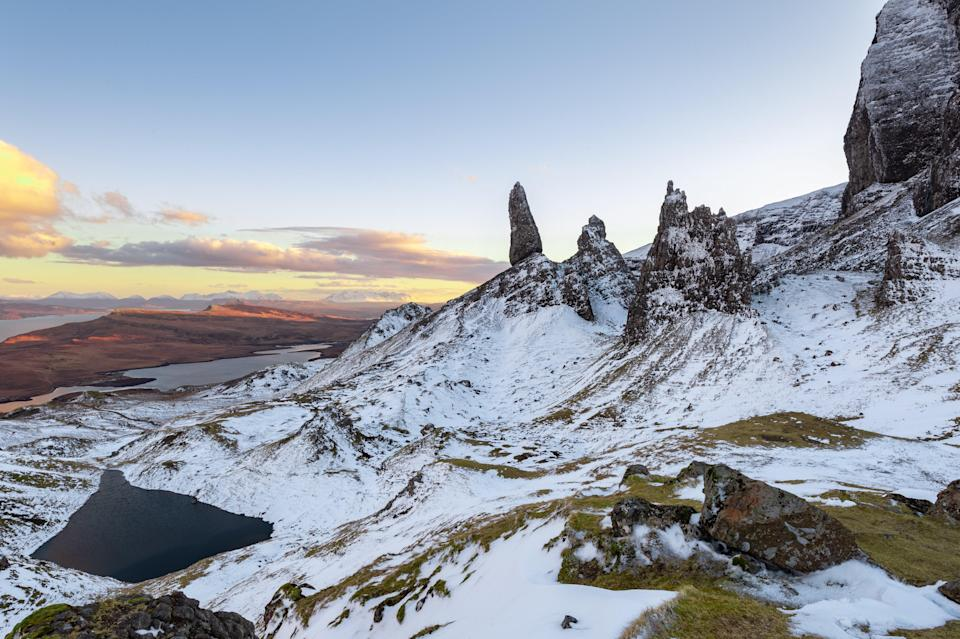 The Met Office has issued the first severe weather warning for snow and ice (Getty Images/iStockphoto)