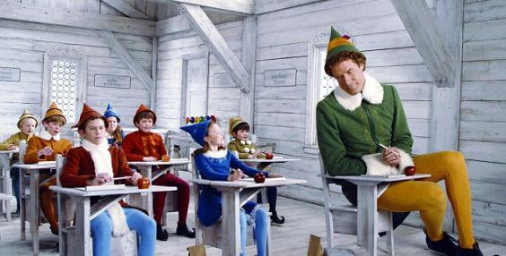 Elf featuring Will Ferrell is considered one of the best Christmas movies (New Line Media )