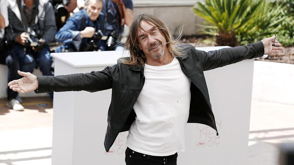 CANNES, FRANCE - MAY 19: Iggy Pop attends the 'Gimme Danger' Photo-call during the 69th Cannes Film Festival on May 19, 2016 in Cannes, France.