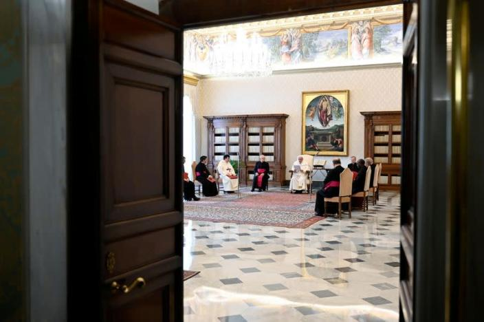 Pope Francis holds weekly general audience
