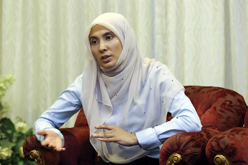 Nurul Izzah says reforming TVET requires thinking beyond courses and institutions. — Picture by Yusof Mat Isa