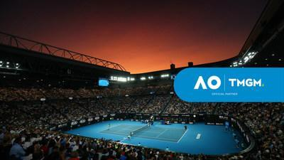 Popular CFD Trading platform TMGM is proudly announcing a multi-year sponsorship of the Australian Open tennis tournament, starting with the 2021 edition. (PRNewsfoto/TMGM)