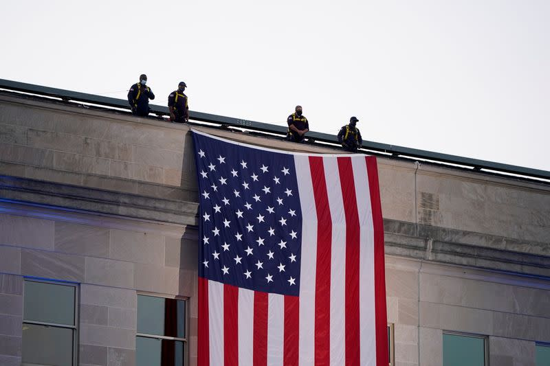 20th annual September 11 observance ceremony at the Pentagon in Washington