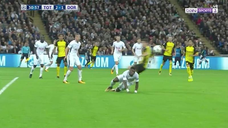 Aurier's brilliant move. Pic: beIN