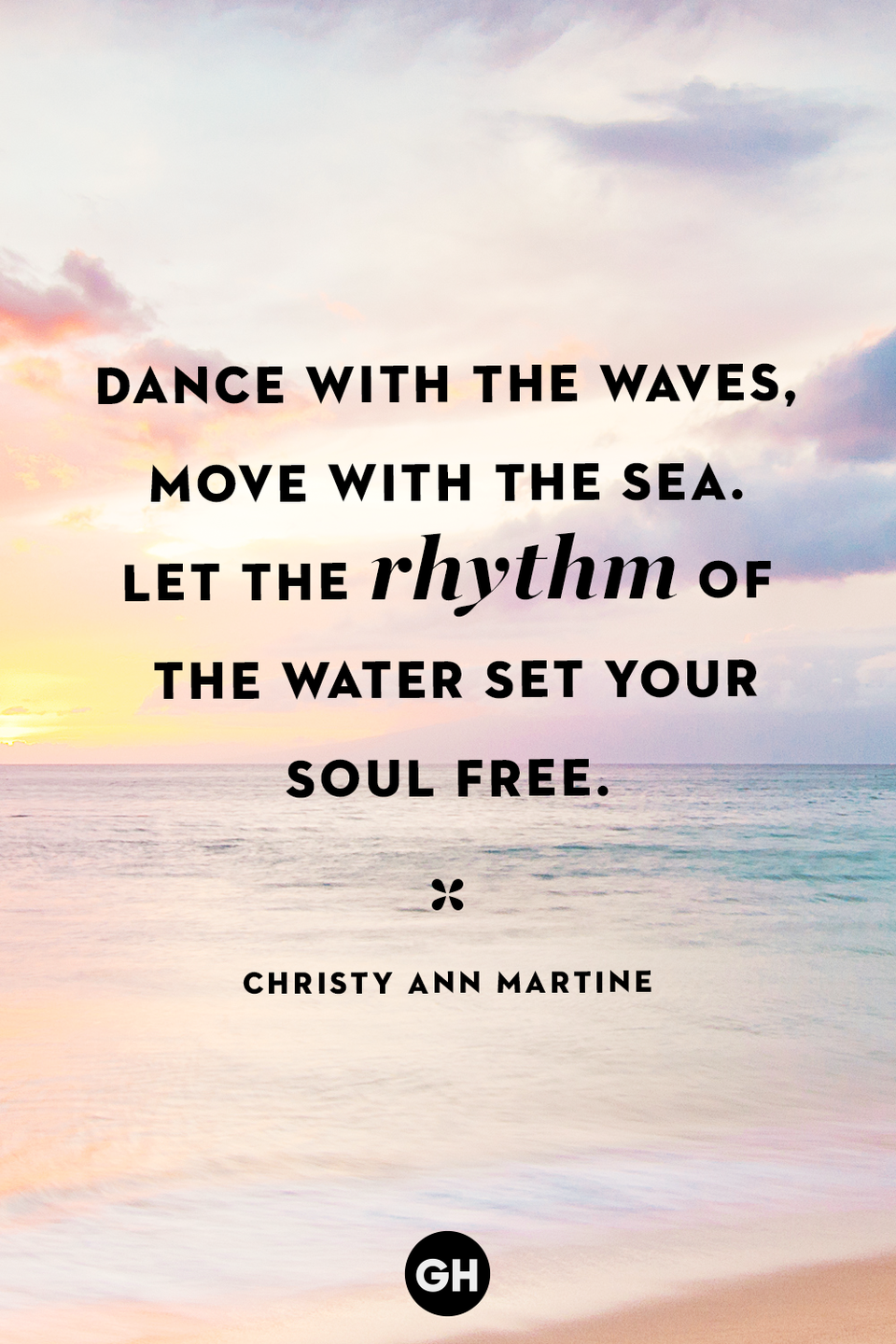 <p>Dance with the waves, move with the sea. Let the rhythm of the water set your soul free.</p>