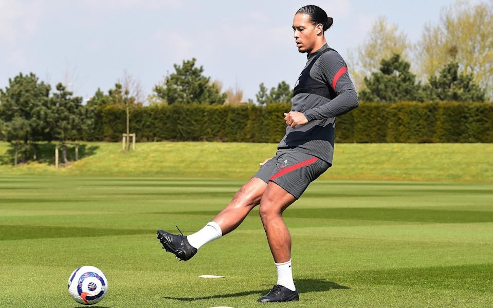 Liverpool and Holland on collision course over Virgil van Dijk's Euro 2021 participation - Getty Images
