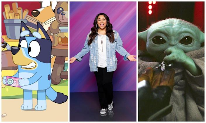 """Bluey"", ""Raven's Home"" and ""Star Wars: The Mandalorian"" are kids shows that appeal to a range of ages."