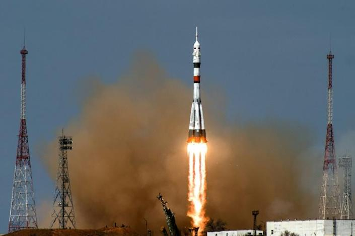 The Russian space agency has also earned large sums by ferrying astronauts (AFP Photo/Andrey SHELEPIN)