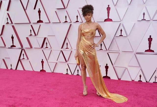 Andra Day at the 93rd Academy Awards