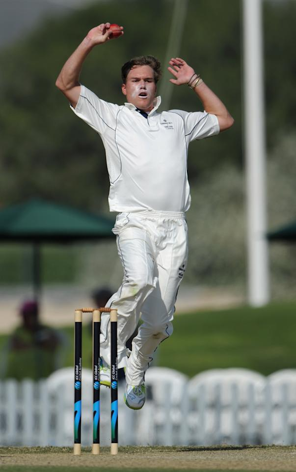 Christi Viljoen (Namibia): The 24-year-old right-arm medium pacer took his 14 wickets in nine matches at an average of 12.71 and economy rate of 7.02. Viljoen, whose strike rate in the tournament was an impressive 10.8 had a best of 4 for 8.