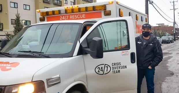 Five vans are on the road round-the-clock this weekend ready to assist vulnerable Edmontonians.