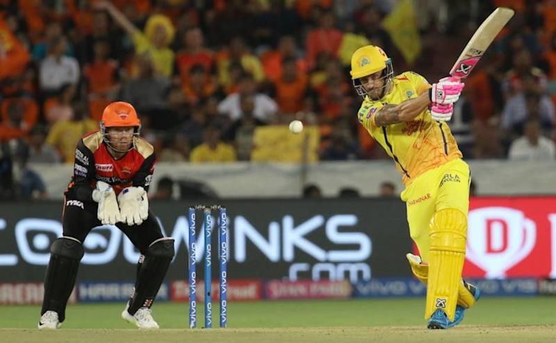during match 33 of the Vivo Indian Premier League Season 12, 2019 between the Sunrisers Hyderabad and the Chennai Super Kings held at the Rajiv Gandhi Intl. Cricket Stadium, Hyderabad on the 17th April 2019 Photo by: Faheem Hussain /SPORTZPICS for BCCI
