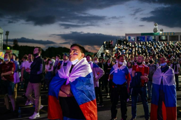 The fanzone in Moscow will be closed because of soaring infections