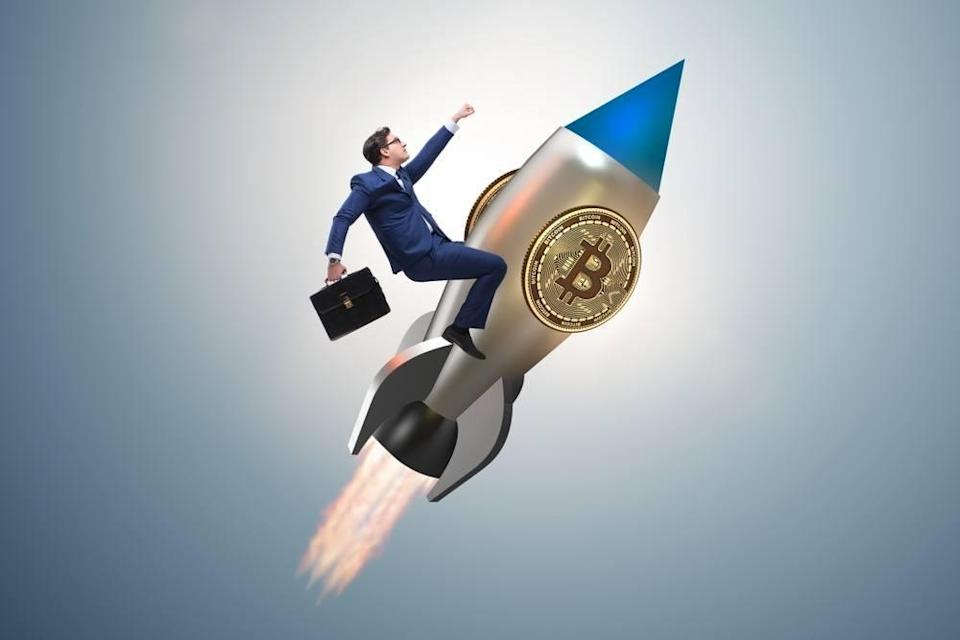 Morgan Creek Capital Management CEO Mark Yusko says bitcoin's current parabolic move will take it to $30,000 before a slight pullback.   Source: Shutterstock