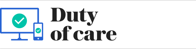 Banner: Duty of Care