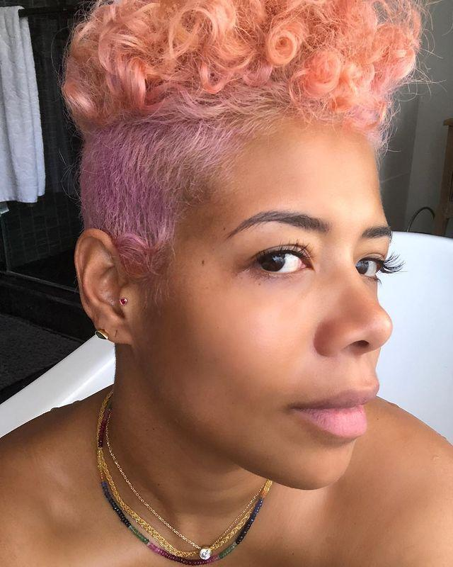 """<p>If you have short hair like Kelis and don't want to go full on purple, add a touch of lilac to the sides. </p><p><a href=""""https://www.instagram.com/p/BhHQxu2F8lp/"""" rel=""""nofollow noopener"""" target=""""_blank"""" data-ylk=""""slk:See the original post on Instagram"""" class=""""link rapid-noclick-resp"""">See the original post on Instagram</a></p>"""