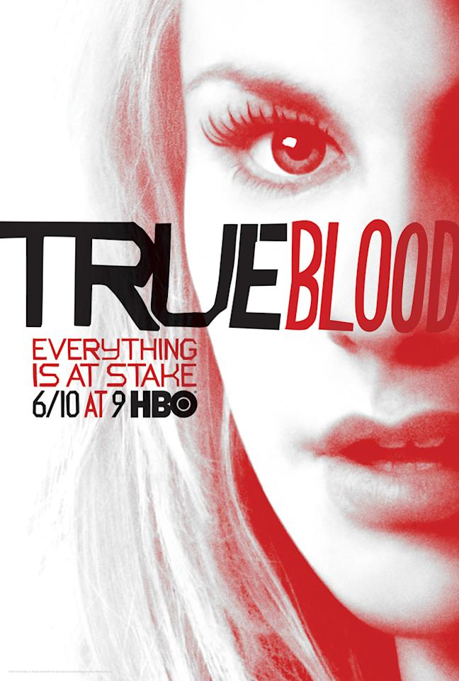 """True Blood"" Season 5 poster featuring Sookie Stackhouse (Anna Paquin)"