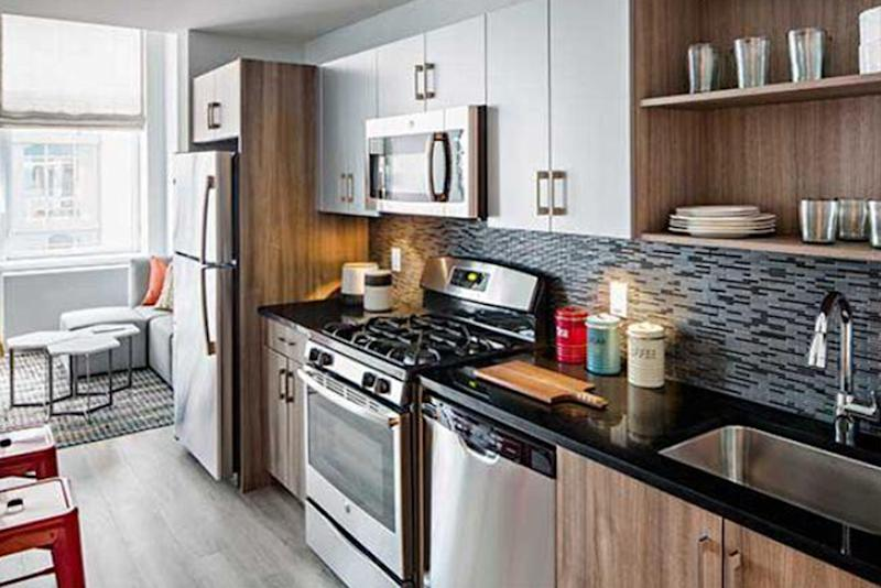 how to get an apartment in nyc kitchen